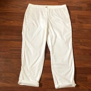 J. Jill Live-in Chino Ankle Pants Size 16